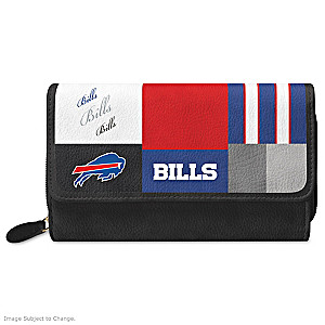 Bills For The Love Of The Game Wallet With Team Logos