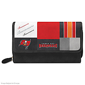 Buccaneers For The Love Of The Game Wallet With Team Logos