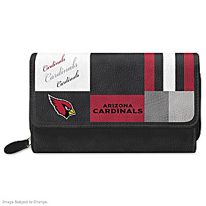 Cardinals For The Love Of The Game Wallet With Team Logos