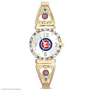"""""""My Cubs"""" Ultimate Fan Women's Wristwatch"""