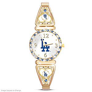 """""""My Dodgers"""" Ultimate Fan Women's Wristwatch"""