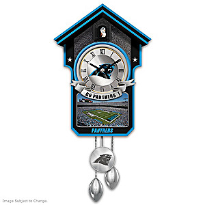 Carolina Panthers Tribute Wall Clock