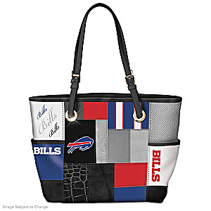 Bills For The Love Of The Game Tote Bag With Team Logos