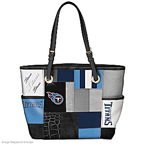 Titans For The Love Of The Game Tote Bag With Team Logos