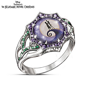"The Nightmare Before Christmas ""Magic At Midnight"" Ring"