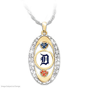 """For The Love Of The Game"" Detroit Tigers Pendant"