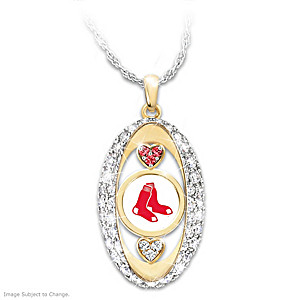 """For The Love Of The Game"" Boston Red Sox Pendant"
