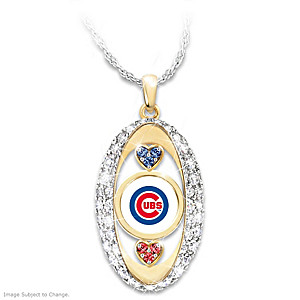 """For The Love Of The Game"" Chicago Cubs Pendant"