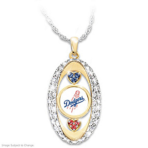 """For The Love Of The Game"" Los Angeles Dodgers Pendant"