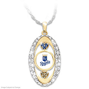 """""""For The Love Of The Game"""" Kansas City Royals Pendant"""