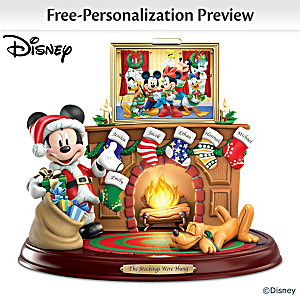 Disney Personalized Sculpture With Names, Light And Music
