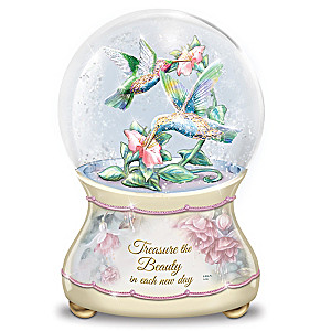 "Lena Liu ""Beautiful Treasures"" Musical Glitter Globe"