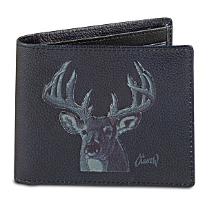 "Al Agnew ""10-Point Buck"" RFID Blocking Leather Wallet"