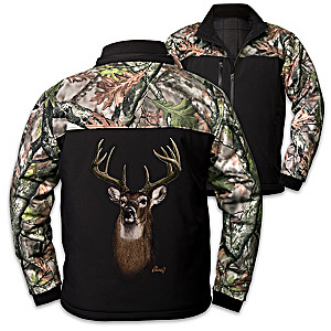 """Al Agnew """"The Great Outdoors"""" Camouflage Men's Jacket"""