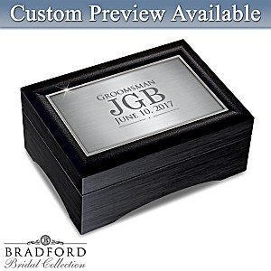 Men's Personalized Keepsake Box: Choose Your Design