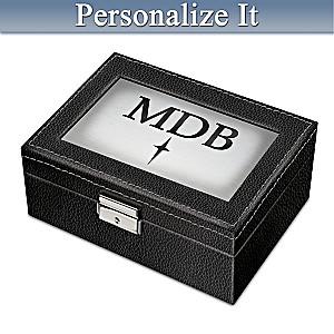 """My Dear Son"" Personalized Locking Keepsake Box"