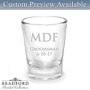 Stylish Personalized Shot Glass: Choose Your Design
