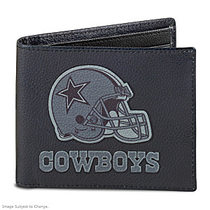 Dallas Cowboys RFID Blocking Leather Wallet