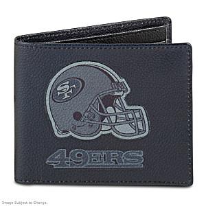 San Francisco 49ers RFID Blocking Leather Wallet