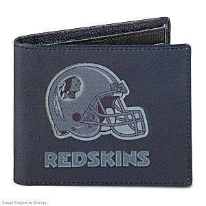 Washington Redskins RFID Blocking Leather Wallet