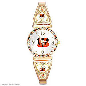 """My Bengals"" Ultimate Fan Women's Wristwatch"