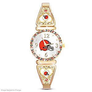 """My Browns"" Ultimate Fan Women's Wristwatch"