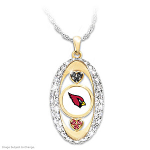 """For The Love Of The Game"" Arizona Cardinals Pendant"