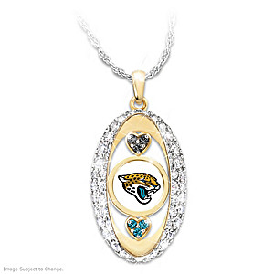 """""""For The Love Of The Game"""" Jacksonville Jaguars Pendant"""