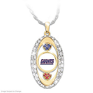 """For The Love Of The Game"" New York Giants Pendant"