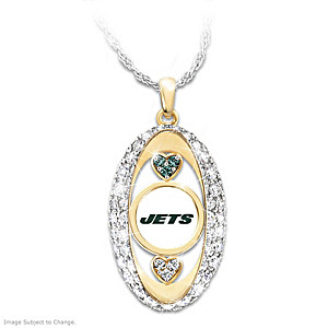 """""""For The Love Of The Game"""" New York Jets Pendant"""