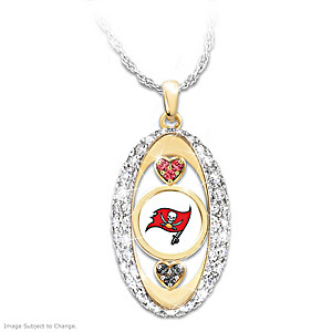 """For The Love Of The Game"" Tampa Bay Buccaneers Pendant"