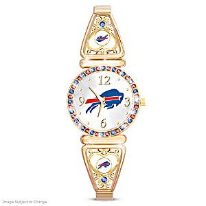 """""""My Bills"""" Ultimate Fan Women's Wristwatch"""