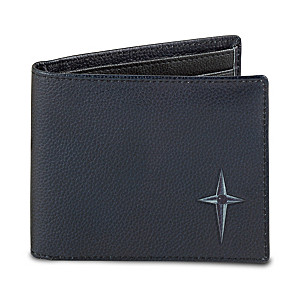 RFID Blocking Leather Wallet for Grandsons