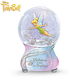"Disney ""Tinker Bell's Magic"" Musical Glitter Globe"