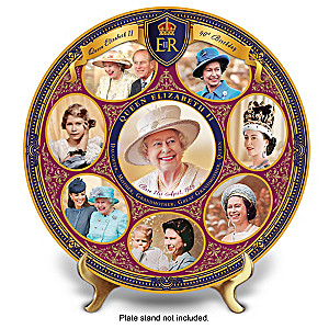 Queen Elizabeth II 90th Birthday Heirloom Porcelain Collector Plate