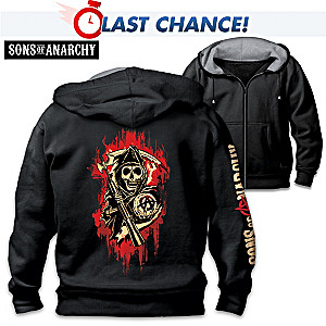 """""""Sons Of Anarchy"""" Comfort Knit Men's Hoodie"""