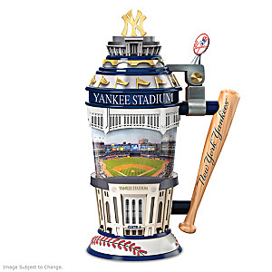 Yankees At Yankee Stadium Sculpted Porcelain Stein