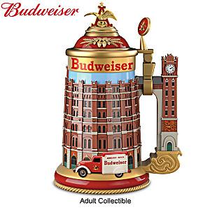 "Budweiser ""Brew House"" Porcelain Stein"