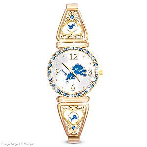 """""""My Lions"""" Ultimate Fan Women's Wristwatch"""
