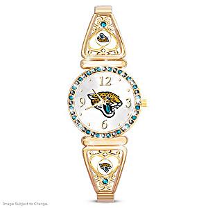 """""""My Jaguars"""" Ultimate Fan Women's Wristwatch"""