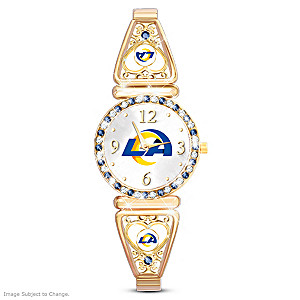 """My Rams"" Ultimate Fan Women's Wristwatch"