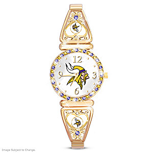"""My Vikings"" Ultimate Fan Women's Wristwatch"