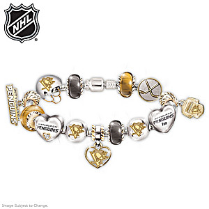 Penguins® Charm Bracelet With Swarovski Crystal