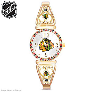 """My Blackhawks®"" Ultimate Fan Women's Watch"