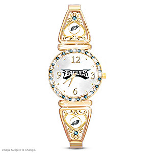 """My Eagles"" Ultimate Fan Women's Wristwatch"