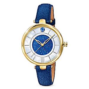 """""""Forever In Blue"""" Denim Women's Watch"""