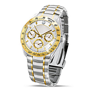 """An Exceptional Son"" Men's Watch With Diamond"