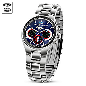 """""""Generations Of Pride"""" Ford Mustang Men's Chronograph Watch"""