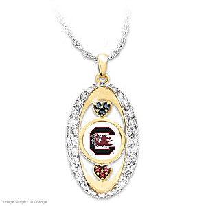 """For The Love Of The Game"" South Carolina Gamecocks Pendant"