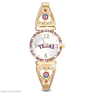 """My Rangers"" Ultimate Fan Women's Wristwatch"
